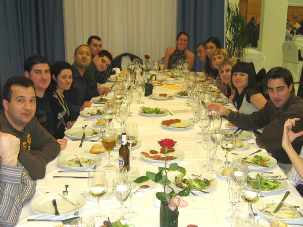 Cena de navidad de Dulcesa 2007