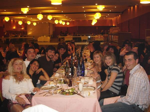 Cena de navidad de JJInd 2007