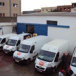 Flota de vehículos en Argel