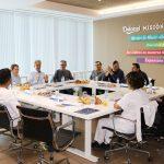 Desayuno con el CEO y trabajadores de diferentes áreas de producción de la planta de Gandia.